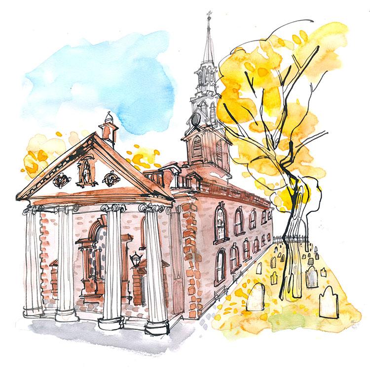 october  - saint paul's chapel