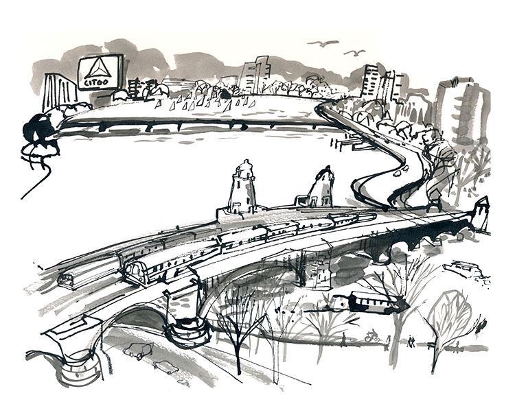 The Longfellow Bridge