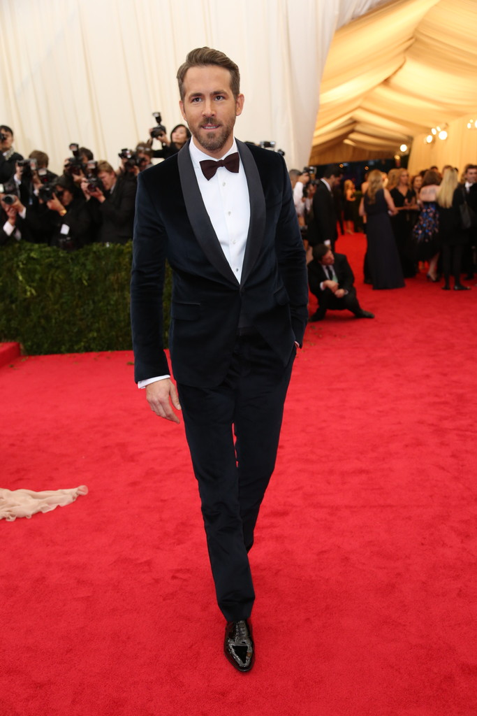 Ryan Reynolds in Gucci