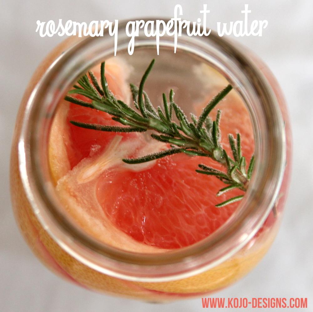 Rosemary / Grapefruit Infusion (RECIPE HERE)
