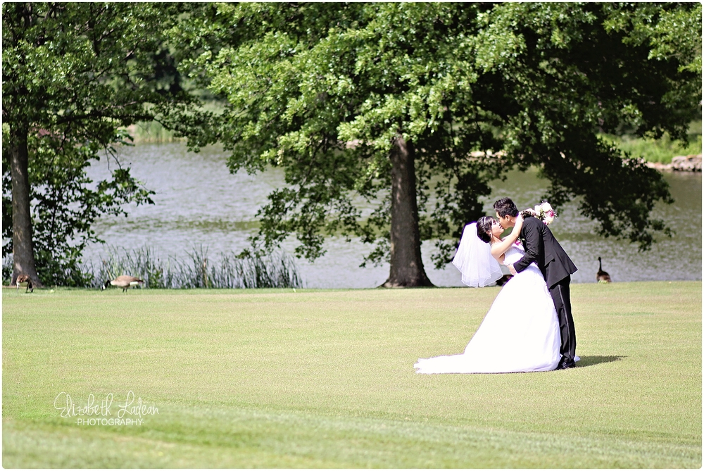 Deer Creek Golf Wedding photos
