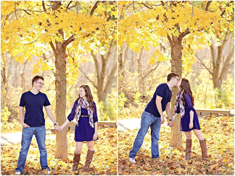 Weston Bend engagement photos