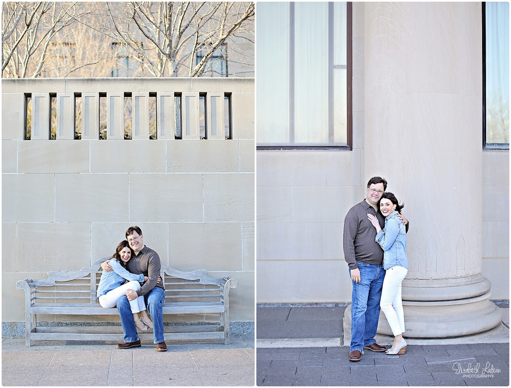 The Nelson Atkins engagement session