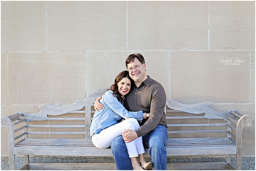 Engagement Session at Nelson Atkins