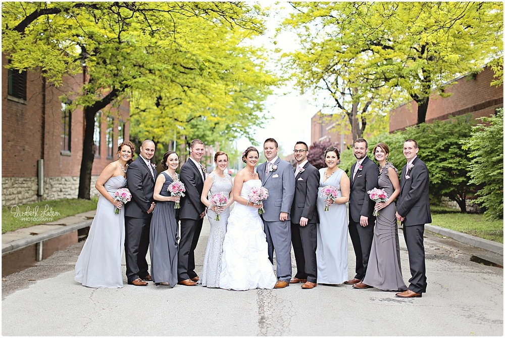 Black on Burlington wedding