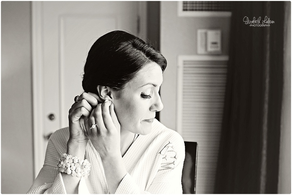 bride at the intercontinental  kansas city