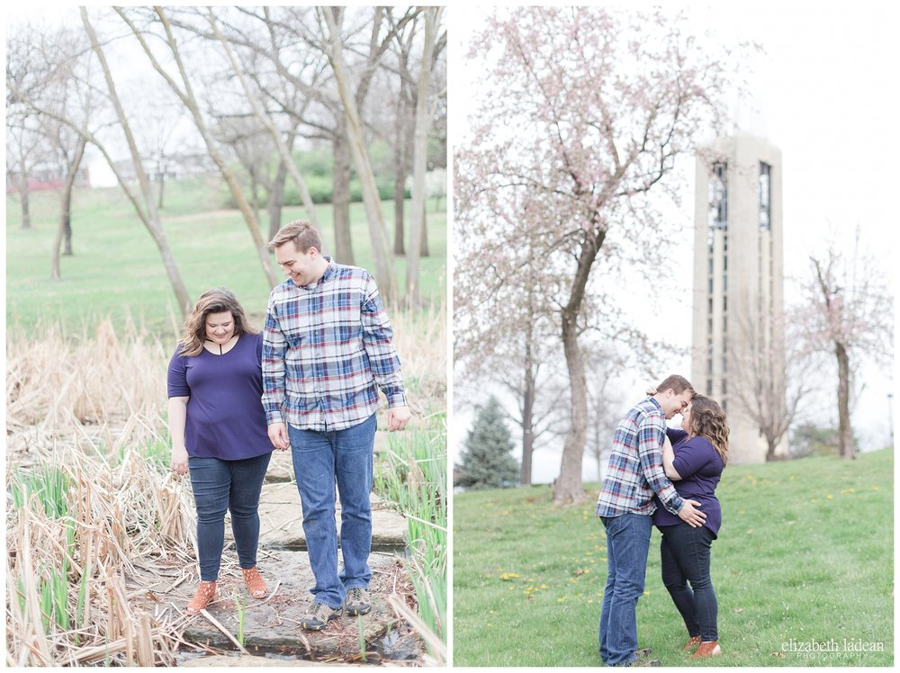 Kansas University Engagement Photos