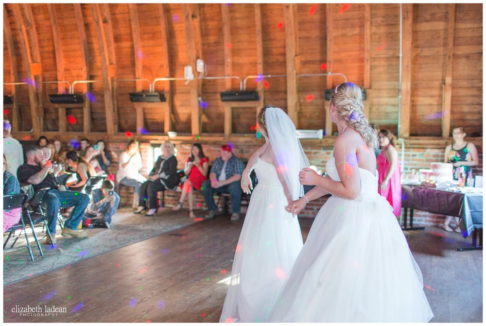 Wedding Reception at Thompson Barn