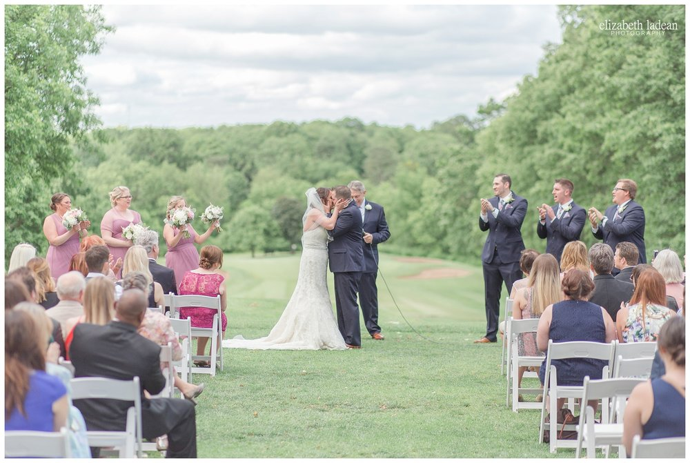 Hillcrest Country Club outdoor wedding photography
