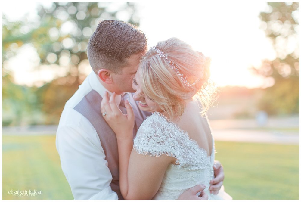 KC Wedding Photography Sunset Portraits