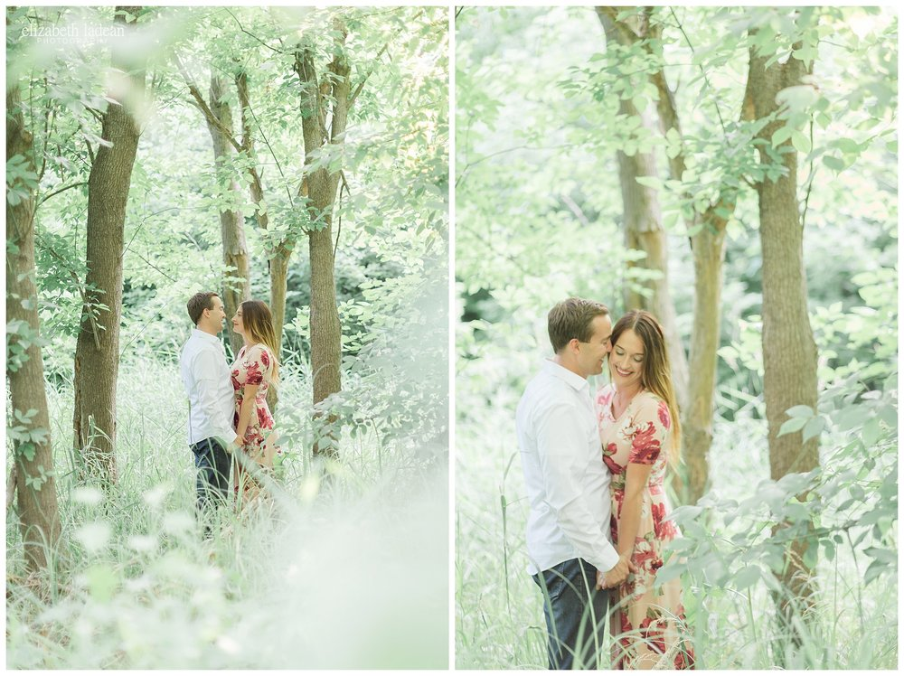 Weston Bend State Park Engagement photos