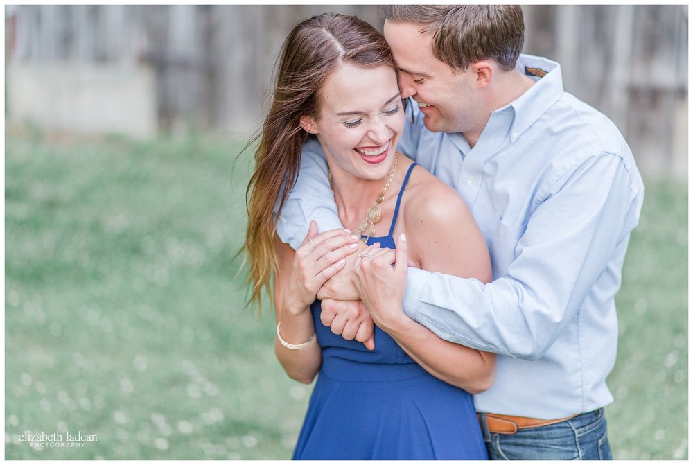 Weston Missouri engagement photos