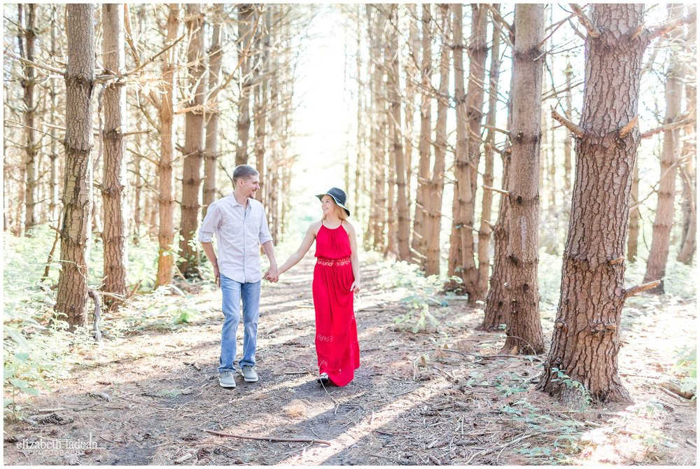 Burr Oak Woods Engagement Photos