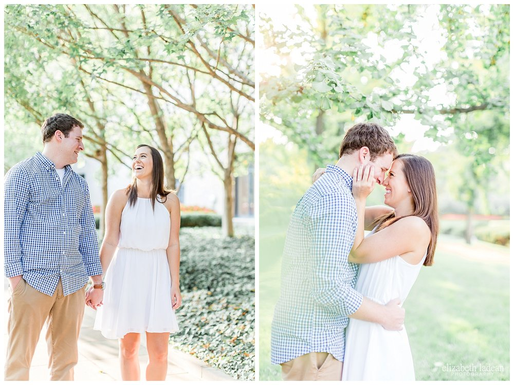 natural light engagement session