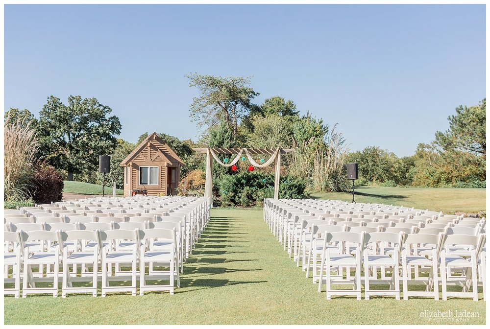 Deer Creek Golf club wedding outdoor