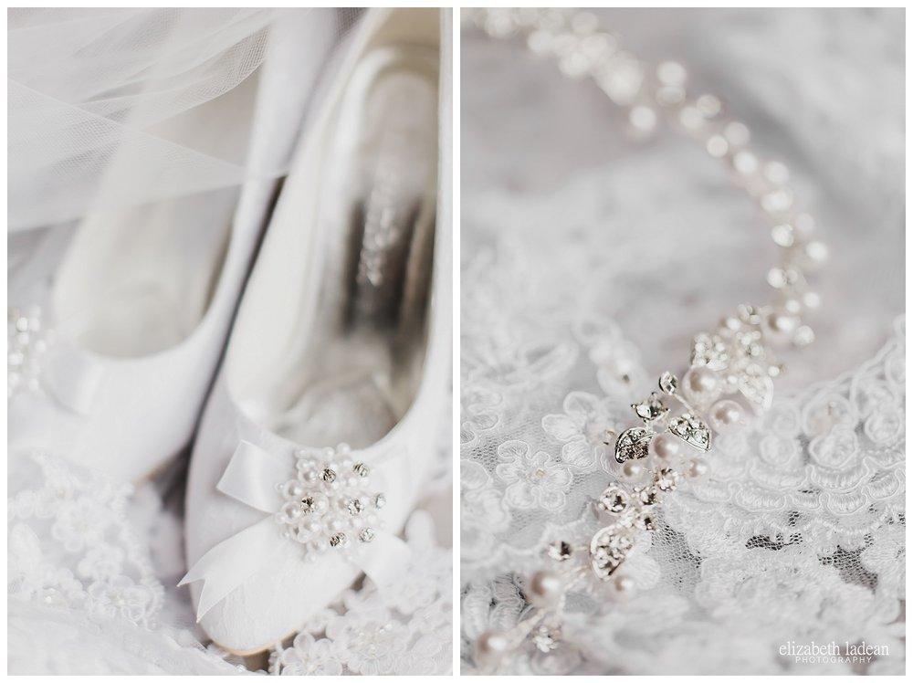 Lacey bridal details