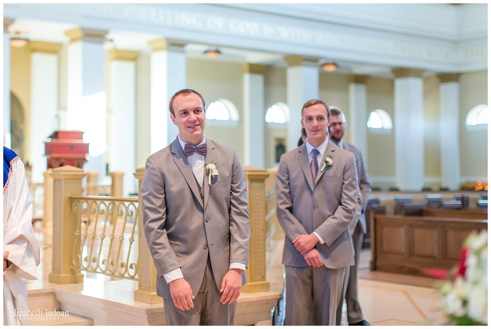 St. Michael the Archangel Catholic wedding photography