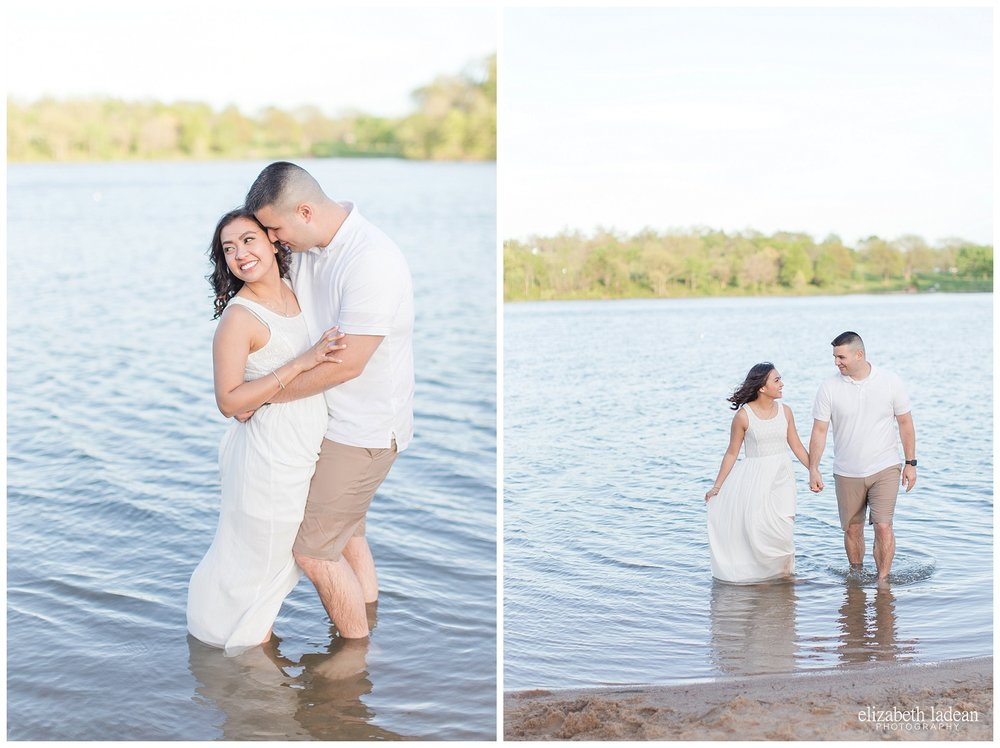 Shawnee Mission Park engagement session, Kansas