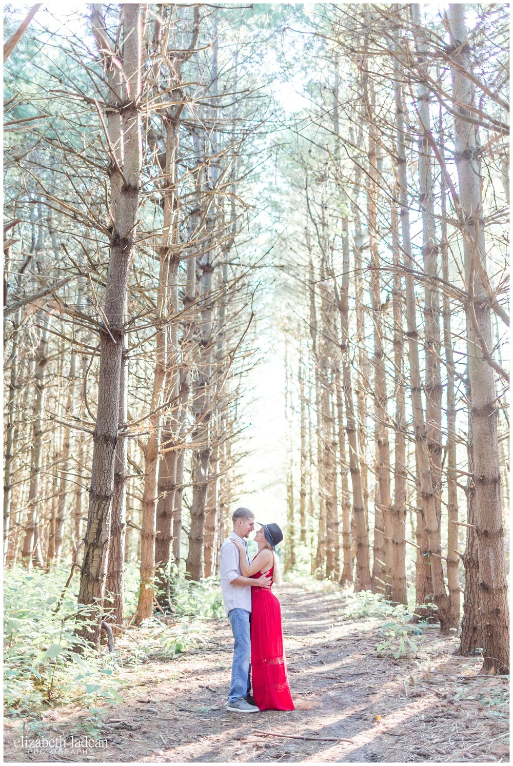 natural light engagement photographer