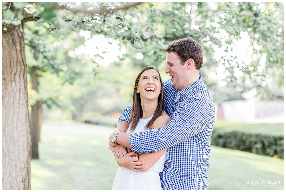 Nelson Atkins engagement session by Elizabeth Ladean