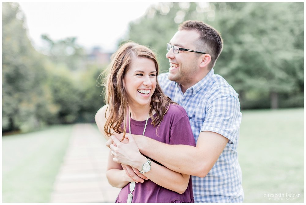 joyful and authentic engagement photography