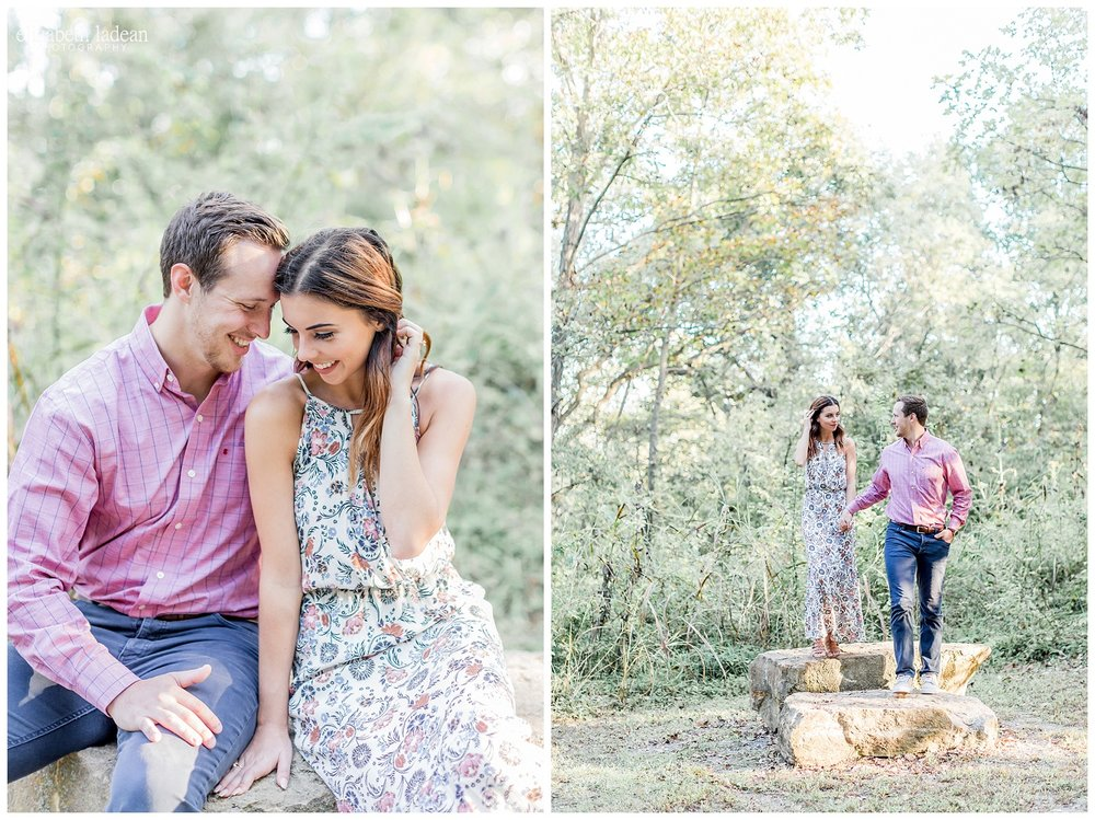 KC engagement photog