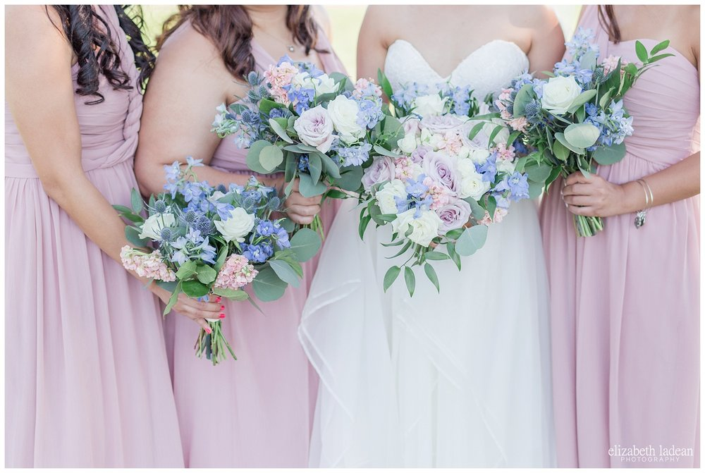 Good Earth Florals wedding day photos