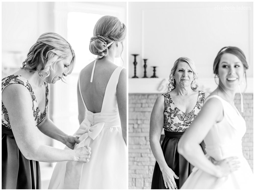 KC intimate wedding photographer