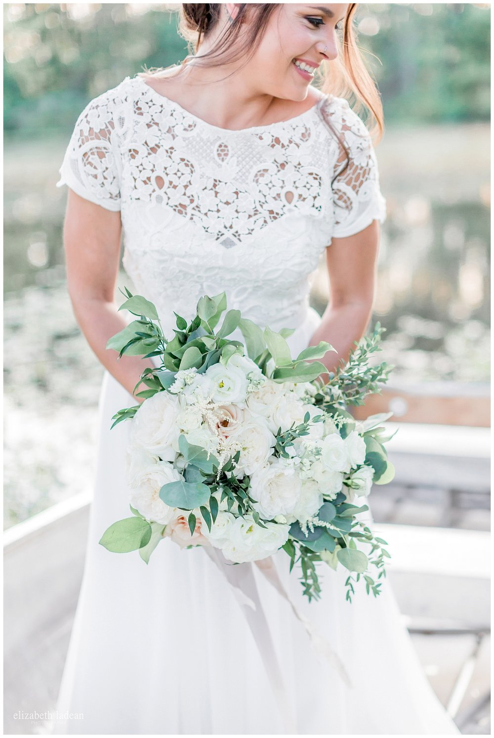 Wild Hill Flowers Kansas City florist, boho inspired wedding bouquet