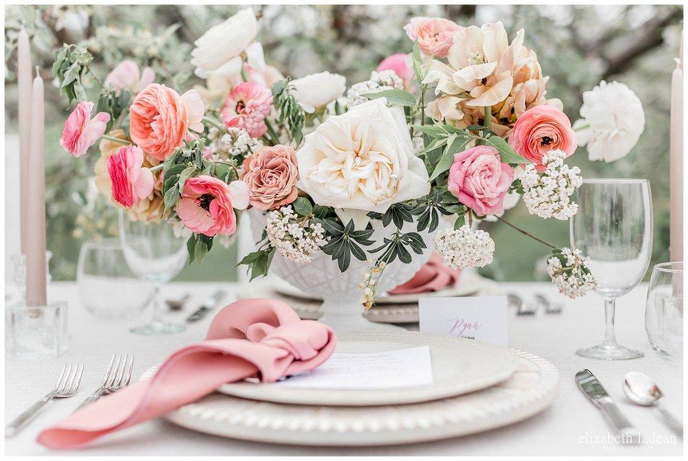springtime florals of pinks