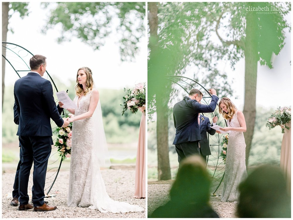 woodsy kansas city outdoor wedding photography
