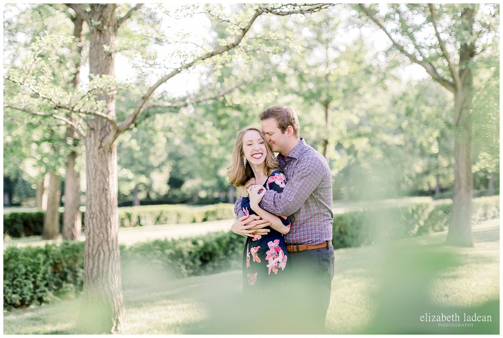 adventurous natural light engagement photography in kansas city