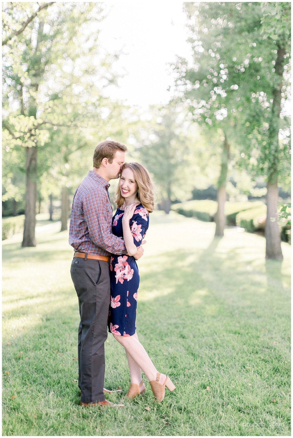 candid natural light engagement photography in kansas city
