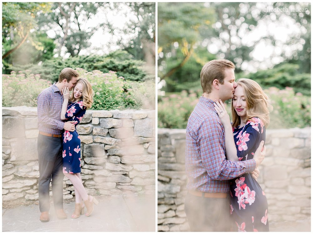 Loose Park engagement photography