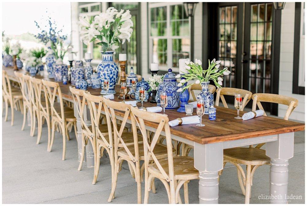farmhouse tables for wedding