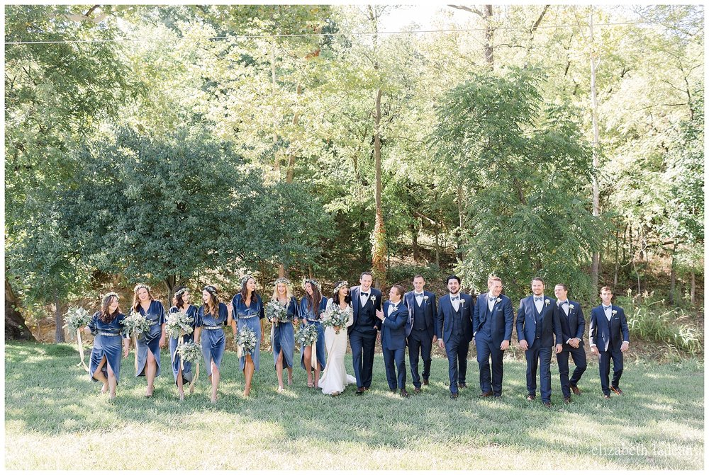bridal party photography kansas city