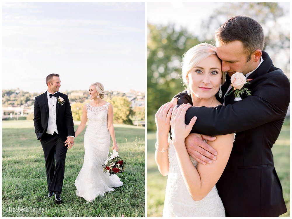 Natural light Kansas City wedding photographer