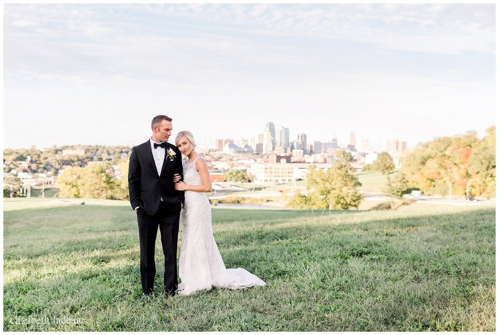 Downtown KC wedding photography