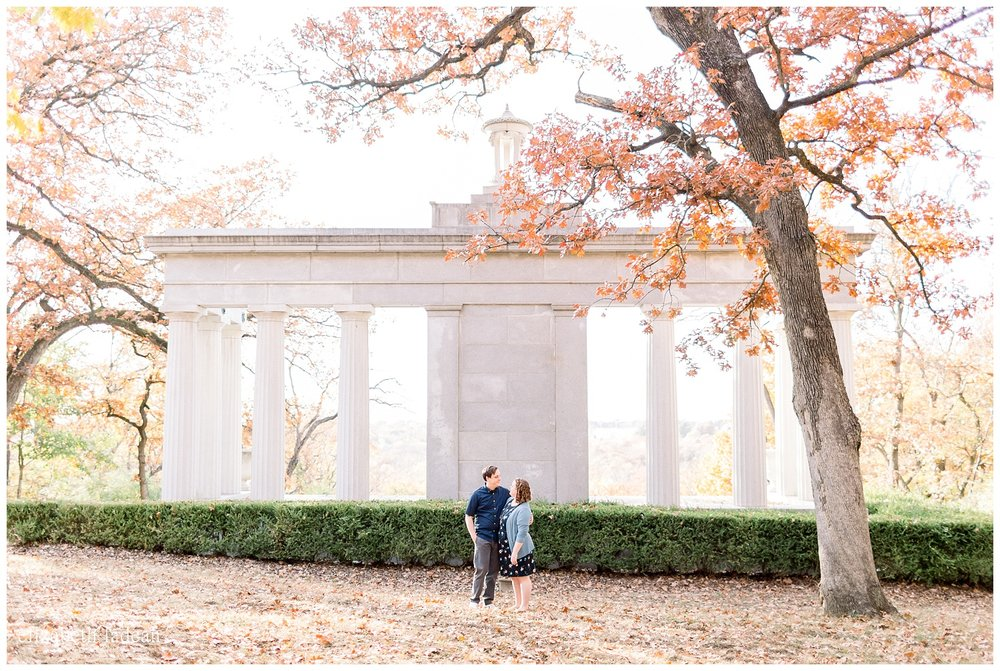 KC engagement photography natural light