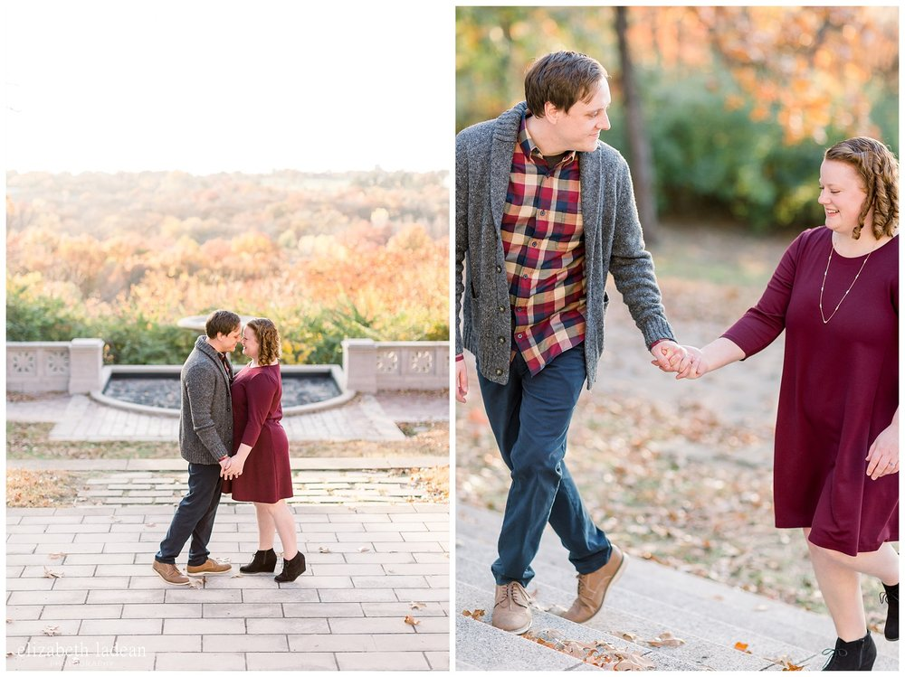 Natural Light Engagement Photos in Kansas City