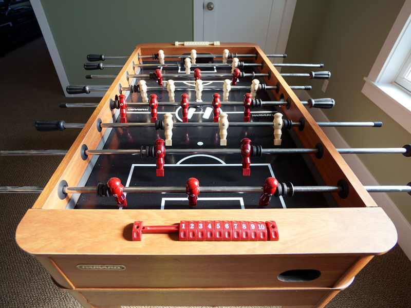 Foosball and Games Table