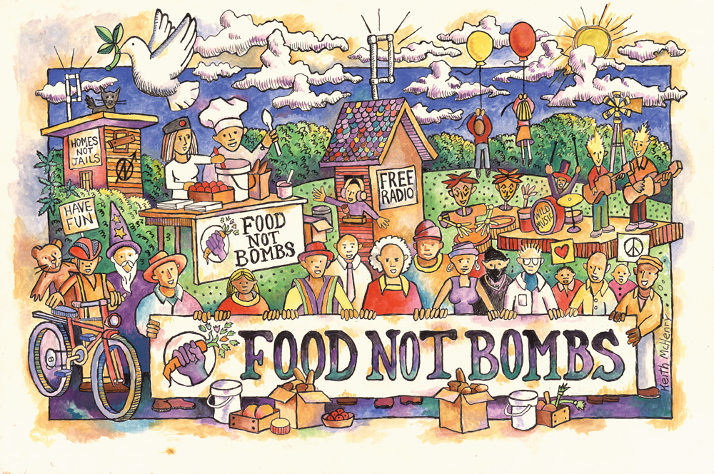 Courtesy of Food Not Bombs