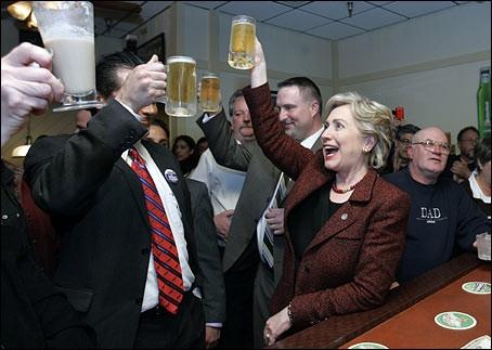 Hillary Clinton, Indiana, 2008