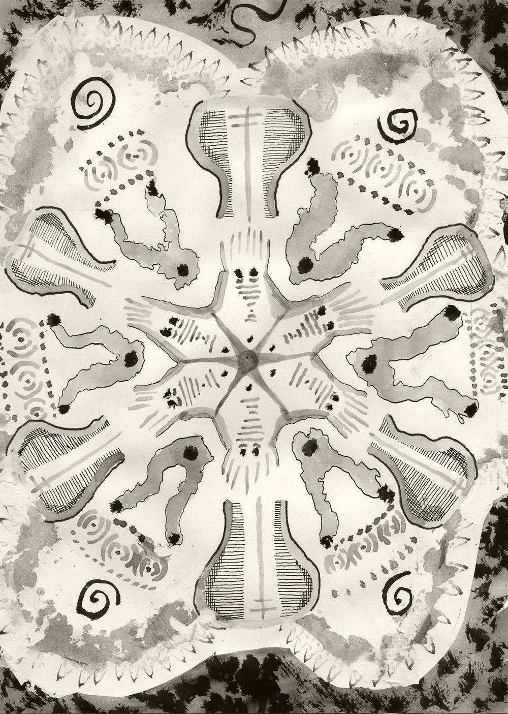 Organic radial symmetry