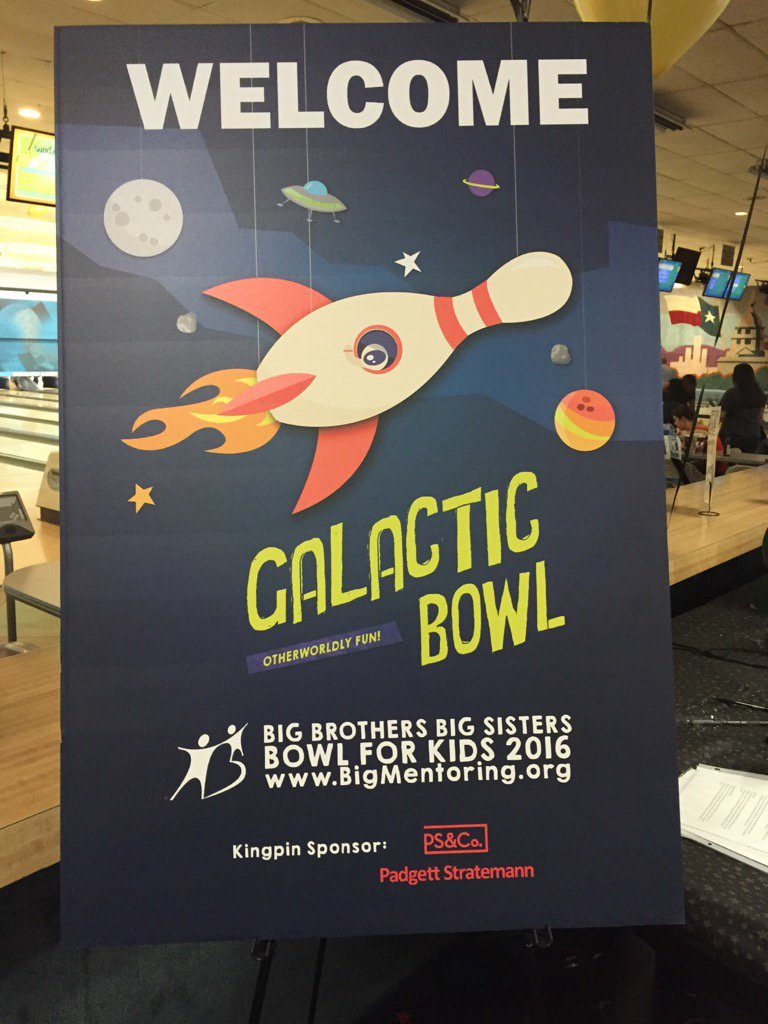 Big Brothers Big Sisters of Central Texas depends on the money raised from Bowl for Kids to carry out the work of carefully matching children with caring adult mentors and providing ongoing support to the child, volunteer mentor and child's family.