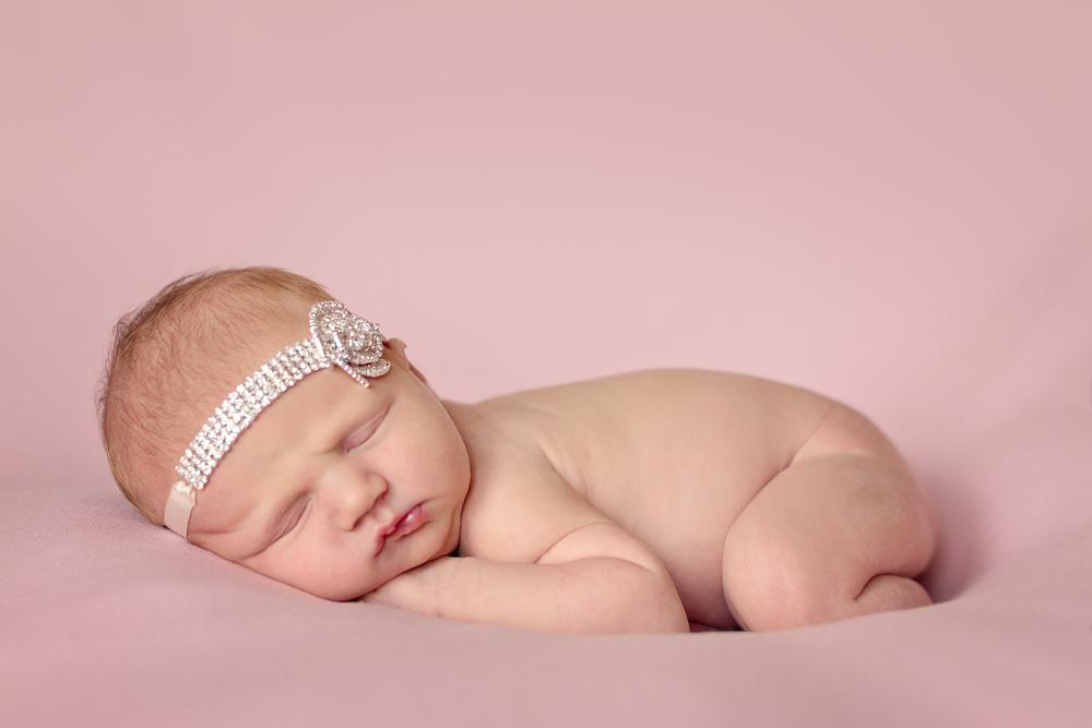 Cincinnati Newborn on Pink   Grace