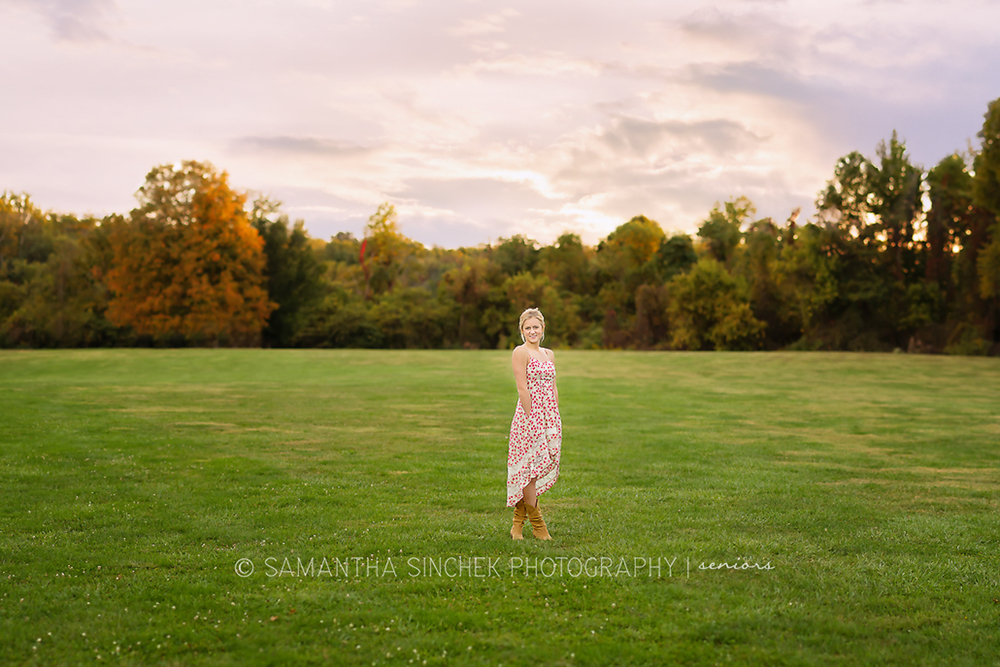 stunning high school senior portraits at sharon woods in cincinnati ohio