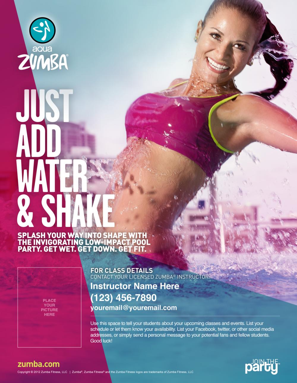 Zumba poster design - Zumba Poster Design 21