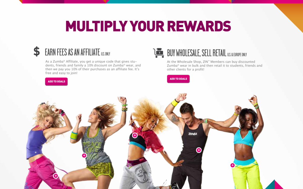 Zumba Good Work Advertising Graphic Design