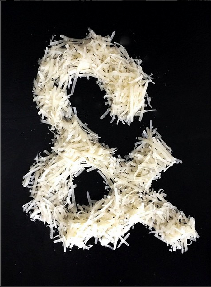 &pizza logo social media ampersand photography parmesan cheese